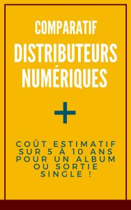 distribution digitale comparatif imusician distrokid cdbaby tunecore review
